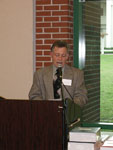 Announcement of Chemistry Honor Roll by Dr. Robert Potter.