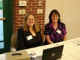 Event coordinators: Kimberly Read and Dr. Patricia Muisener.