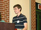 Charles Myers receives the Organic Chemistry Award.